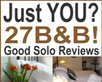 Solo Traveller? The 27 Bed and Breakfast offers a great welcome and good reviews from Singles like you.